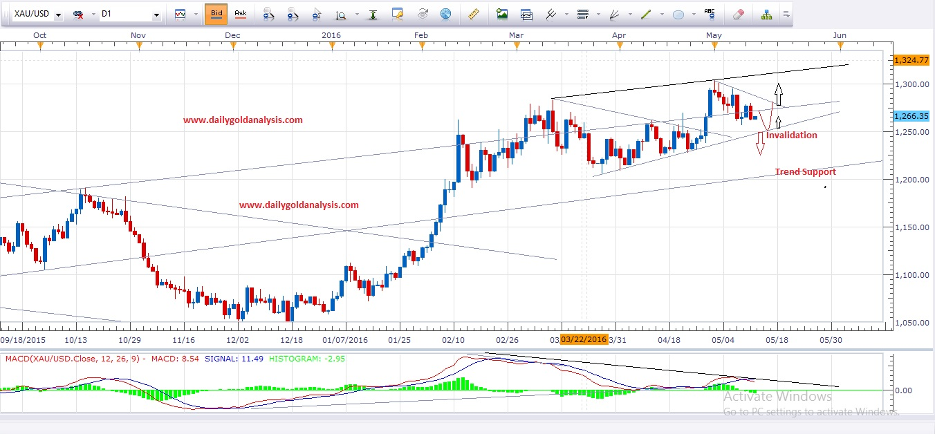 Daily Gold Chart