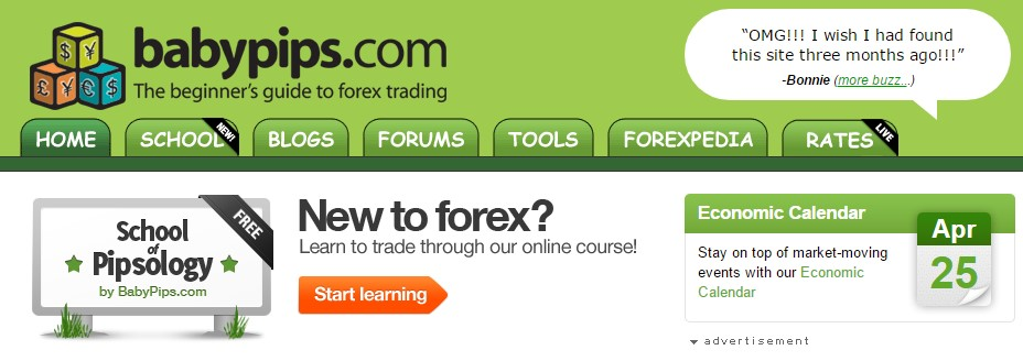 Babypips.com Best Forex Educational Website